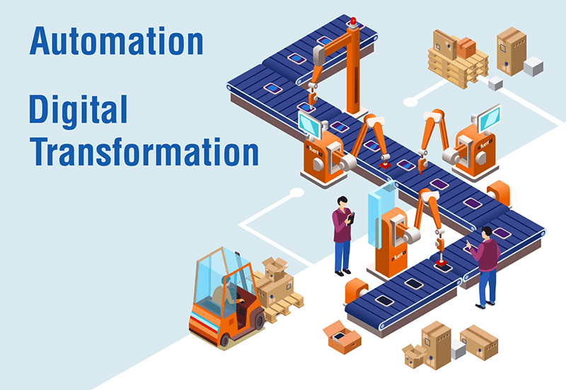Automation in Digital Transformation - Influential Software Services and Solutions